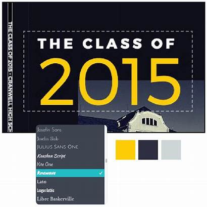 Yearbook Create Covers Yearbooks Fonts