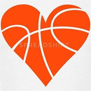 Basketball Heart T-Shirt | Spreadshirt