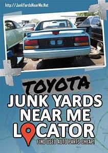 Toyota Salvage Yards Near Me  Locator Map   Guide   Faq