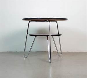 Table Basse En Acier : table basse rouge en acier 1950 design market ~ Melissatoandfro.com Idées de Décoration