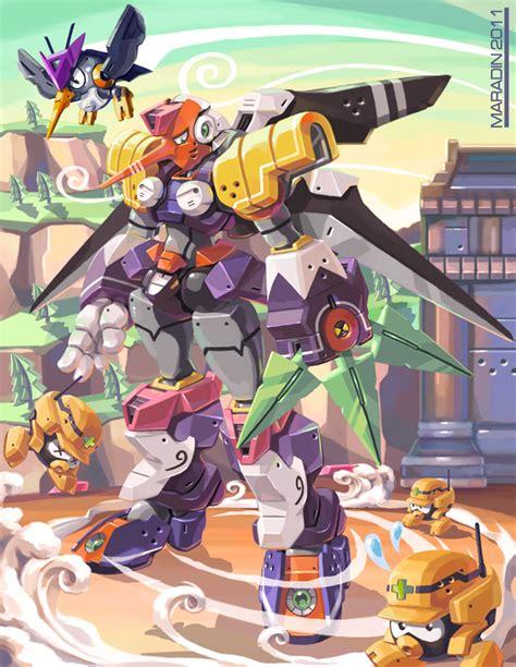 Mega Man Tribute Tengu Man By Nidaram On Deviantart