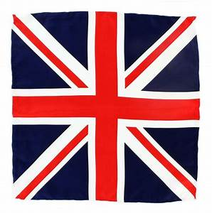 Neckwear and Accessories Union Jack Silk Pocket Square ...