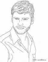 Coloring Pages Boys Printable Adult Actress Daniel Books German Famous Actor Bruhl Realistic Colouring Face Getcolorings Drawings Hellokids Practicalscrappers sketch template