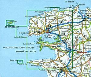 Pointe du Raz - Presqu'île de Crozon - Ouessant - les