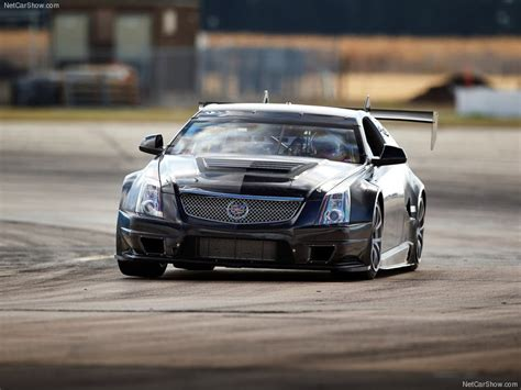 cadillac cts  coupe race car picture    front