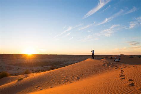 big red sand dune simpson desert