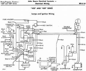 John Deere 1010 Ignition Switch Wiring Diagram