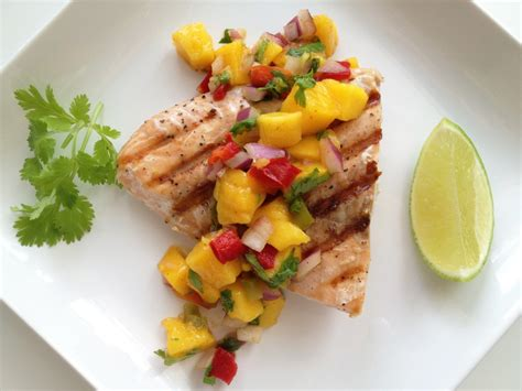 mango salsa salmon recipe grilled snapper grill ways easy fish mangoes enjoy creative season food follow relish direction making chefthisup