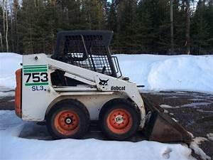 2001  Bobcat 753 Skidsteer  3249 Hrs