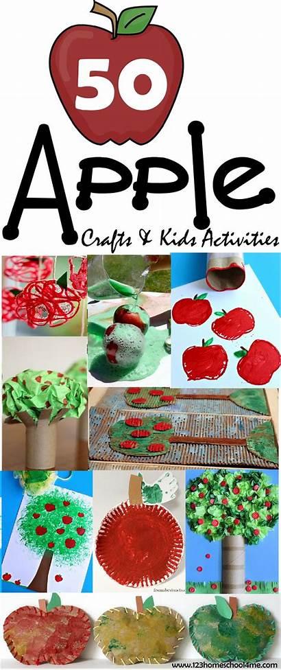 Preschool Crafts September Fall Apple Activities Apples