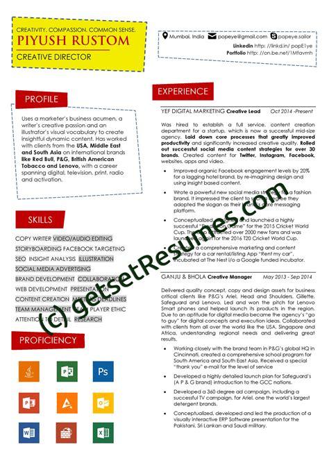 graphic design resume sle u0026 writing guide rg best