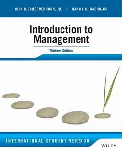 Introduction To Management Notes