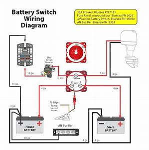 Dual Battery Isolator Wiring Diagram