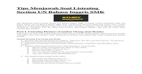 Savesave kunci jawaban listening toefl for later. Kunci Jawaban Section 1 Listening Comprehension - Guru Galeri