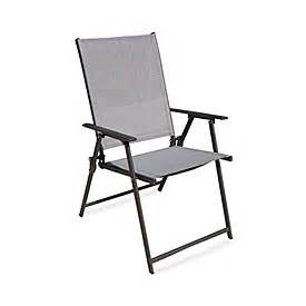 wilson fisher 174 black sling outdoor folding chair big lots