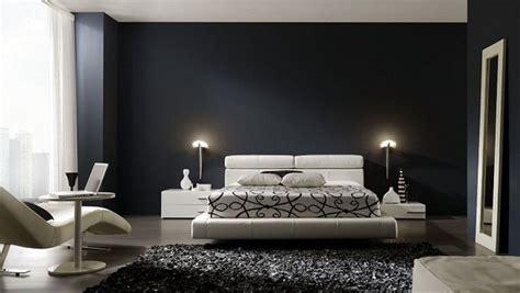 chambre a coucher en noir et blanc déco chambre en noir et blanc