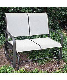Arlington House Jackson Patio Loveseat Glider by Post Country Garden Patio Glider With