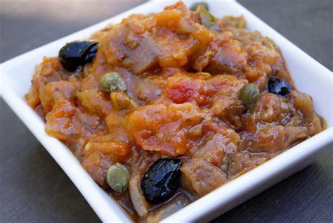 cuisine sicilienne caponata sicilienne de ptite cuisine de pauline