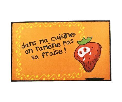 slogan cuisine tapis de cuisine evier molletonné slogan ramène pas ta