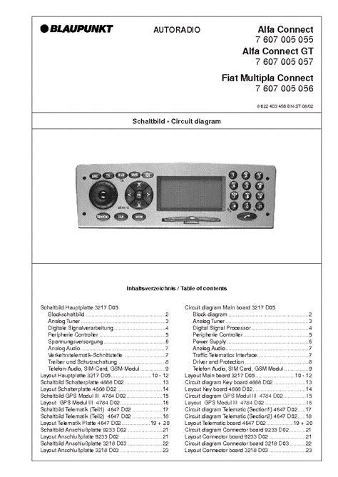 blaupunkt verona cr31 7641770013 service manual free schematics eeprom repair info