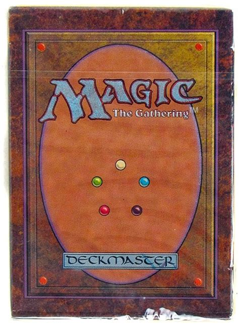 Mtg Alpha Starter Deck Box by Magic The Gathering Alpha Starter Deck Da Card World