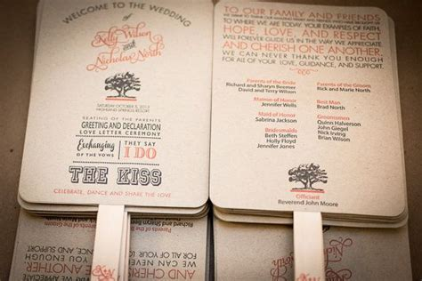 ideas  fan wedding programs  pinterest