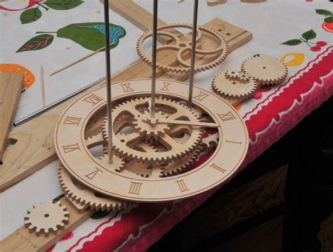 pdf diy easy wooden clock woodwork wood clock pdf plans