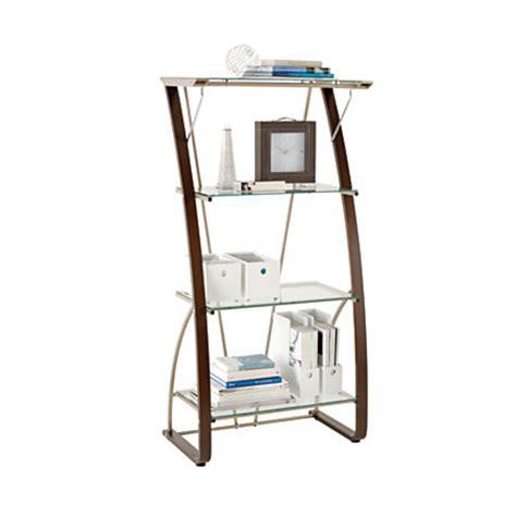 office depot bookcase realspace merido bookcase espressosilver by office depot