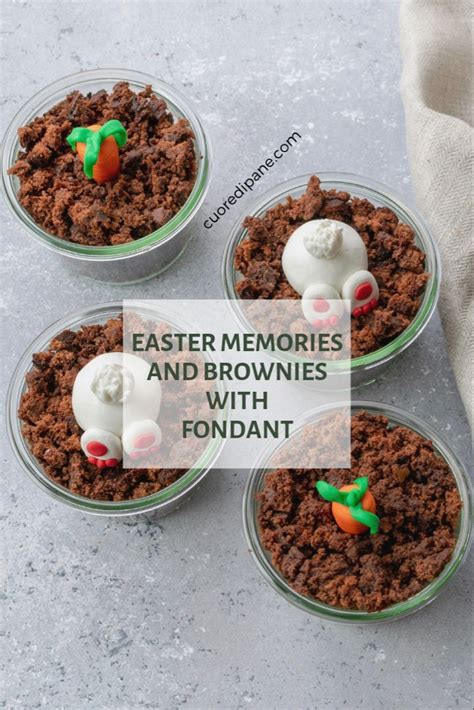 An old irish rhyme goes: EASTER MEMORIES AND BROWNIES WITH FONDANT DECO   Irish recipes, Yummy food, Food drink