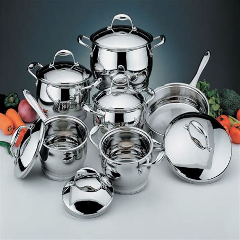 berghoff professional  pc cookware set home kitchen