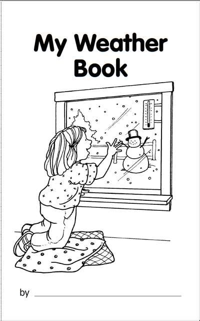 my book about the weather worksheets amp printables 990 | image