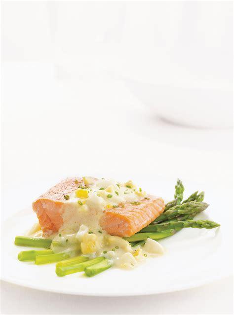 ricardo cuisine francais salmon with egg sauce ricardo