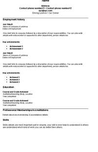 easy free resume fresh and free resume sles for simple resume sle