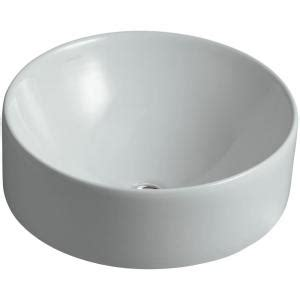Kohler Vox Sink Home Depot by Kohler Vox Vitreous China Vessel Bathroom Sink In