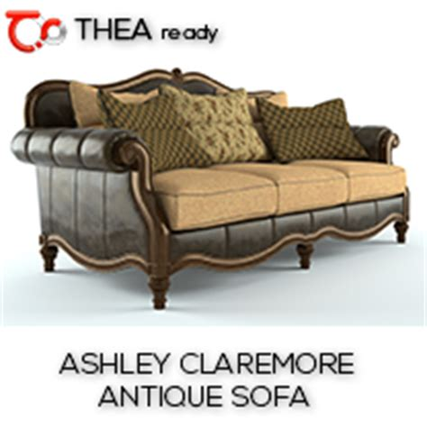 ashley claremore antique sofa sketchucation