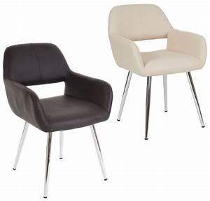 Retro Esstisch Stühle : details zu esszimmerstuhl mit armlehne sessel esszimmer st hle stuhl gepolstert retro arvik ~ Markanthonyermac.com Haus und Dekorationen