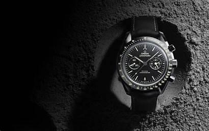 Omega Moon Side Dark Speedmaster Pitch Watches