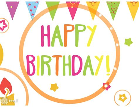 Prezi Birthday Template by Happy Birthday 4 Prezi Premium Templates