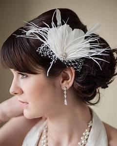 Fascinator Bridal Fascinator Head PieceFeather Fascinator
