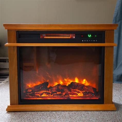 lifesmart infrared quartz fireplace heater review