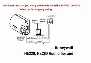 Wired Humidifier To Hum On Furnace Circuit Board And