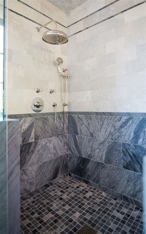 honed bardiglio marble backsplash design ideas