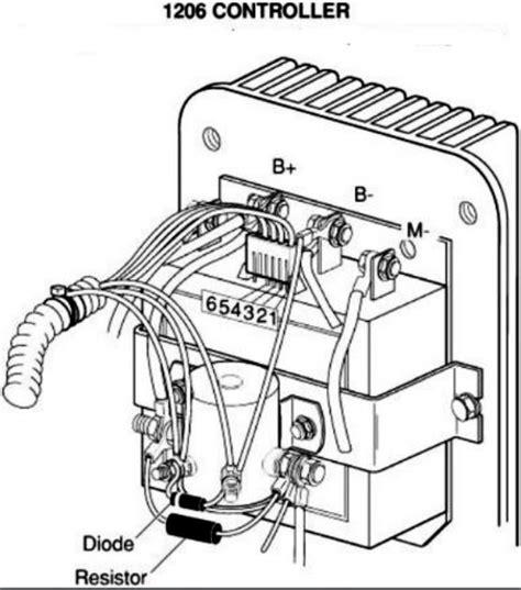 basic ezgo electric golf cart wiring  manuals cart