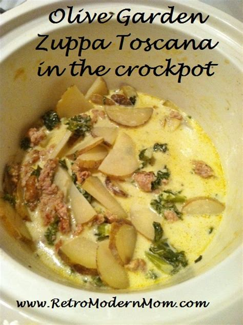 olive garden ingredients olive garden zuppa toscana soup crockpot recipe