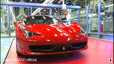 Ferrari Factory, Manufacturing, Production & Assembly