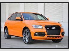 2015 SQ5 in Audi Exclusive Solar Orange AudiForumscom