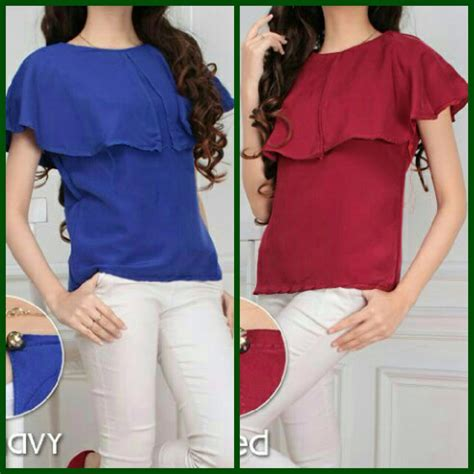Blouse Wanita Atasan Wanita jual atasan blouse nadine limited edition model baju