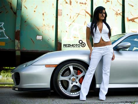 porschecar girls wallpapers