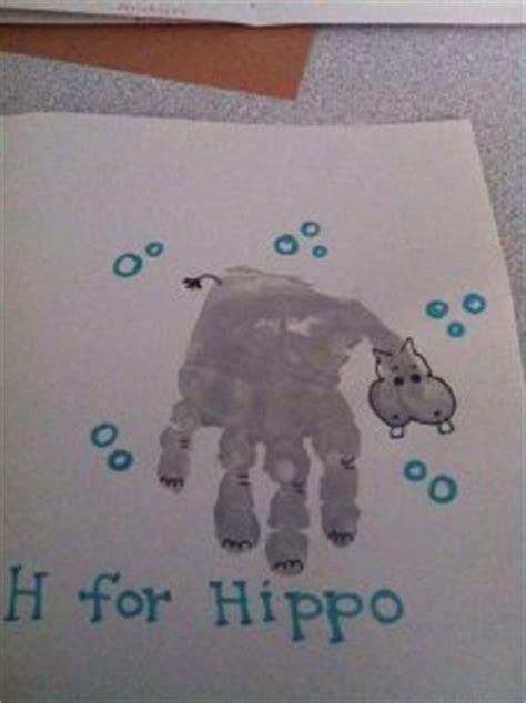 hippo craft idea  kids crafts  worksheets
