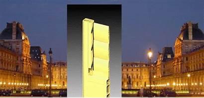 Louvre Pei Entrance Claes Gotten Oldenburg Rather